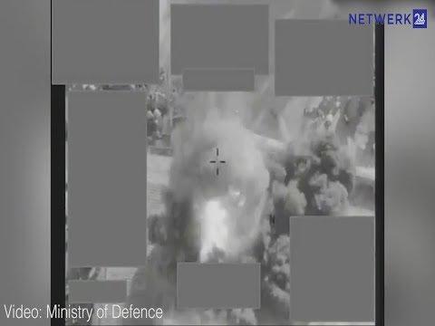 RAF-vlieëniers gebruik drone-beheerde enkele missiel om ISIS te stop
