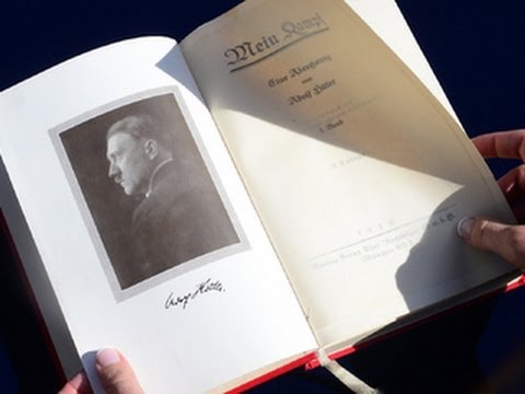 'Mein Kampf' signed by Hitler up for online auction