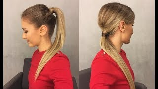 Proste fryzury - KUCYK , Simple hairstyles - PONYTAIL