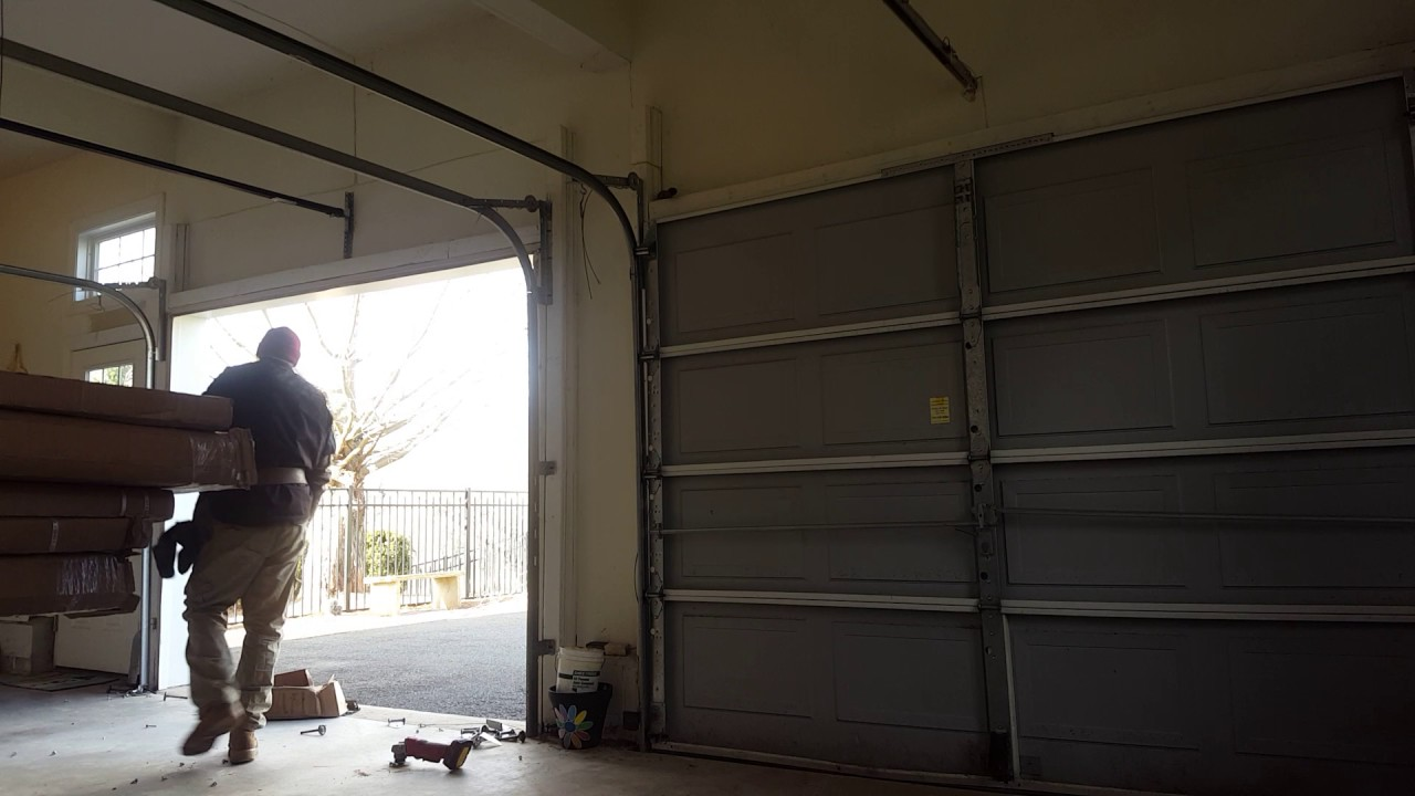 How To Remove A Garage Door