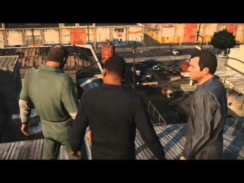 D-Pad Chat Gaming Podcast: GTA 5 Discussion Video