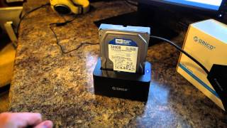 Orico 6619 Series Hard Drive Dock REVIEW