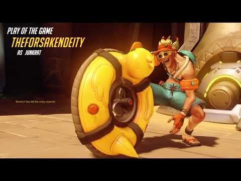 Overwatch Mystery Hero Attack/Defense on Temple of Anubis