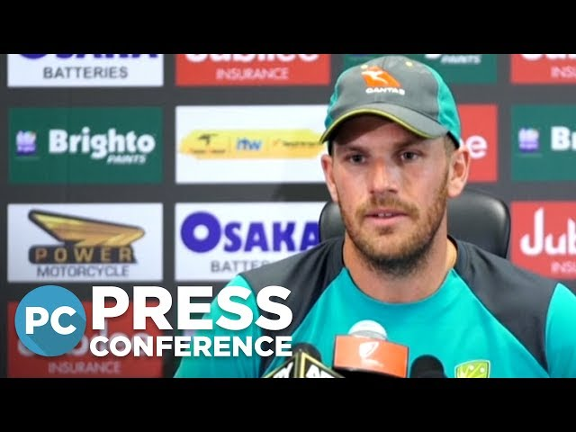 Aaron Finch recaps a disappointing day for Australia