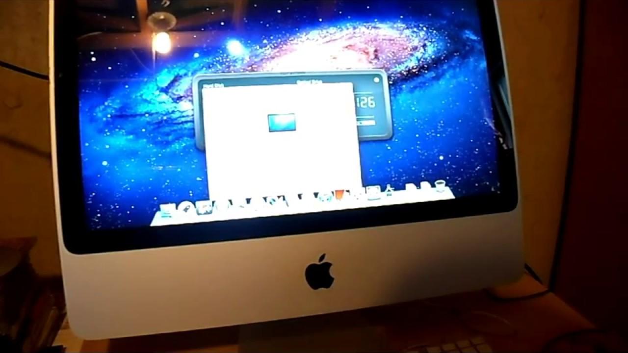 2008 iMac 20 Loud Fan SSD FAN Control app