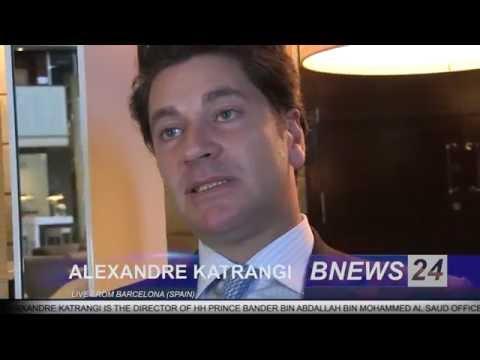Spain Barcelona News BNEWS24 TV, Alexandre Katrangi Interview