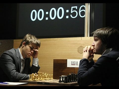 magnus carlsen hypnotizing the opponent' MIND