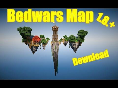 BEDWARS MAP TRAILER -~- Map Download [1 8 +] -~- Minerjo1000