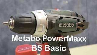 Самая лучшая аккумуляторная дрель-шуруповерт Metabo PowerMaxx BS Basic