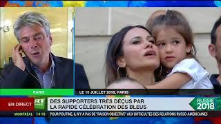 Célébration des Bleus : Macron s'est «approprié l'évènement»