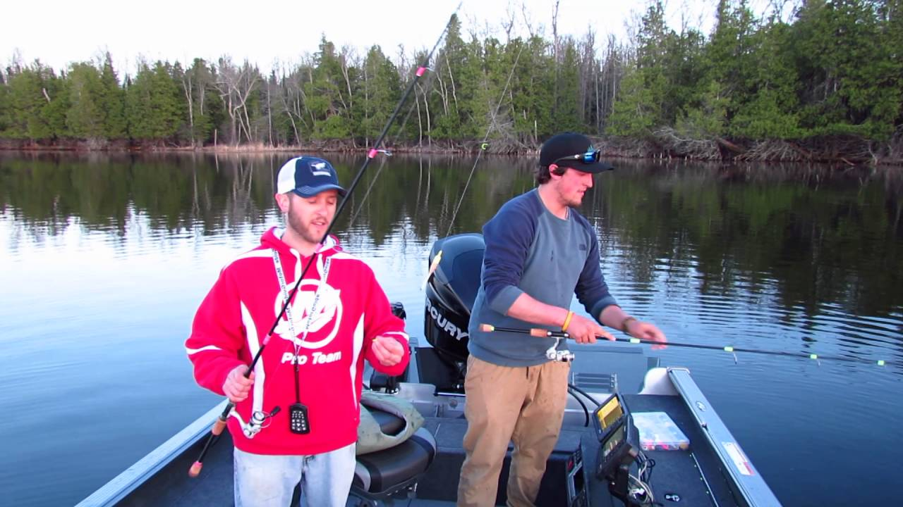 Fishing Report May 5, 2016 Grand Rapids MN area with HLO