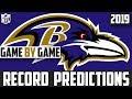 2019 NFL Record Predictions - Baltimore Ravens Record Prediction 2019