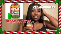 I TRIED GUMMIES FOR ANXIETY? | PREMIUM HEMP GUMMIES REVIEW| ThatsKeAndra