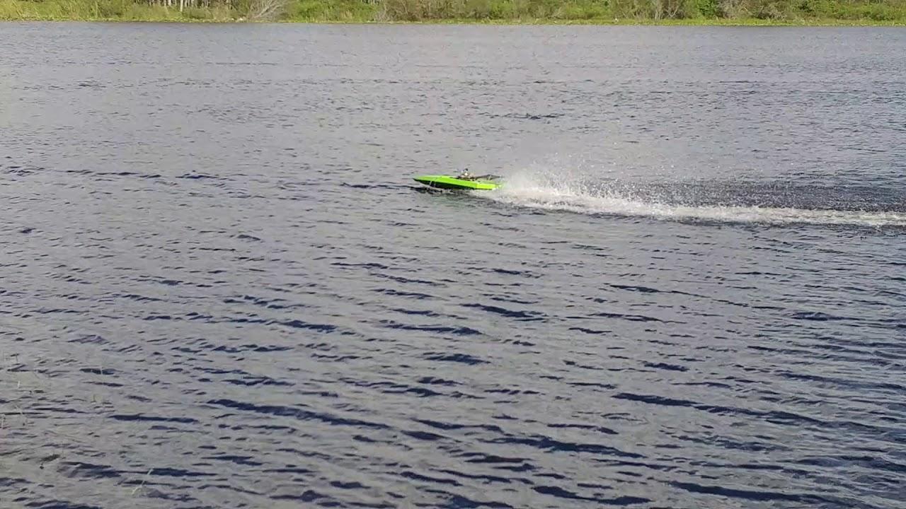 Aeromarine rc boat test