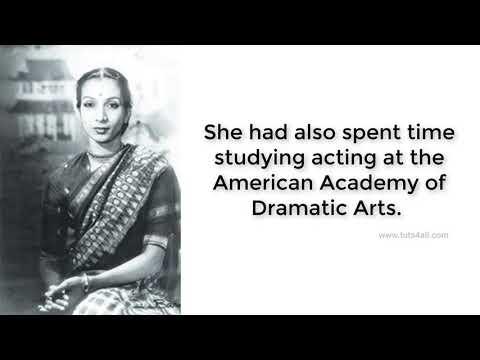 Biography of Mrinalini Sarabhai