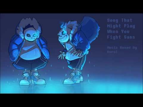 undertale song that might play when you fight sans