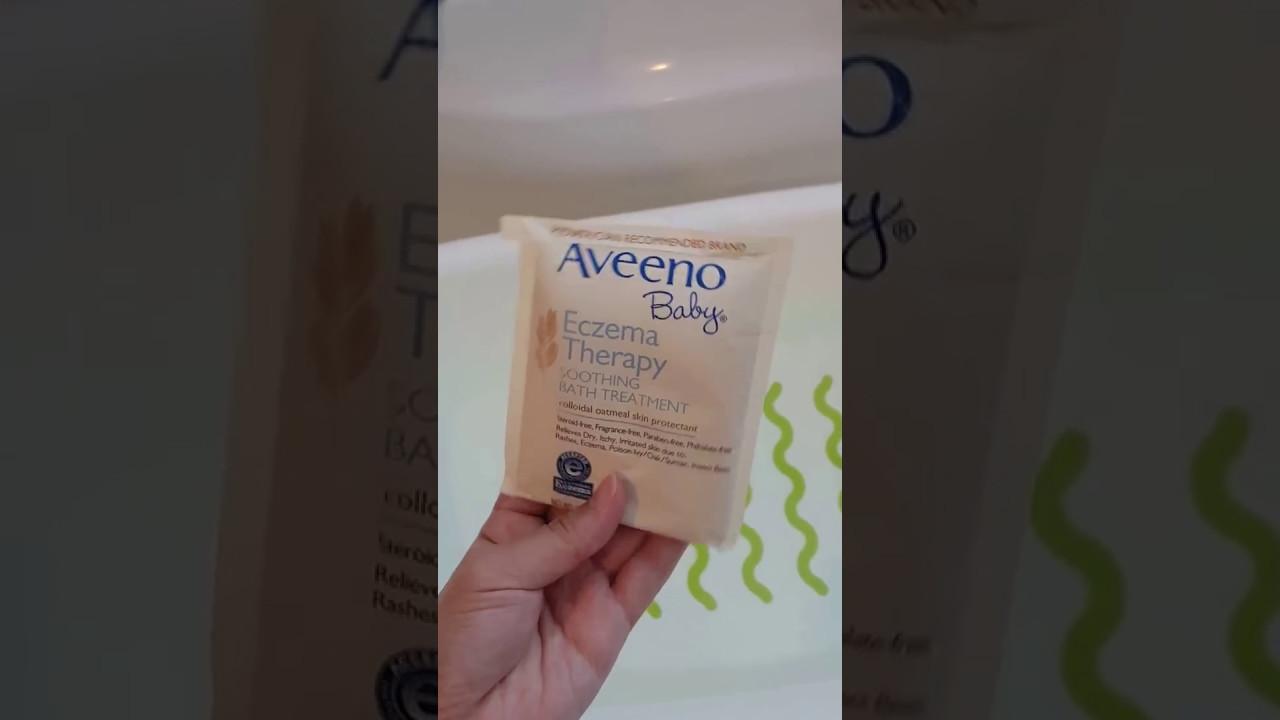 aveeno bath treatment