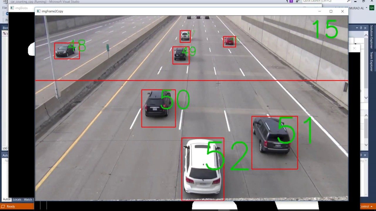 Car Counting using OpenCV