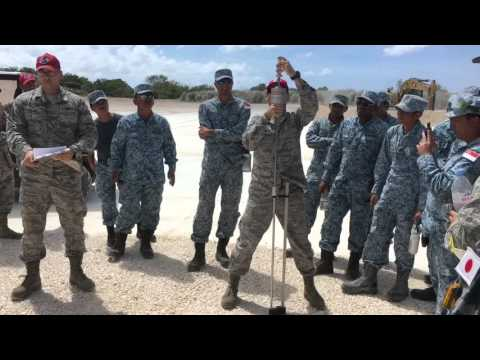 Silver Flag 2016--Guam with Partner Nations