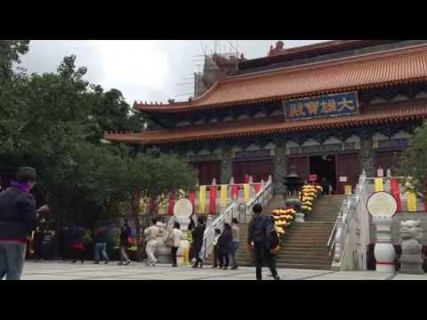 Visiting the Po Lin Monastery and Tian Tan Buddha, Hong Kong