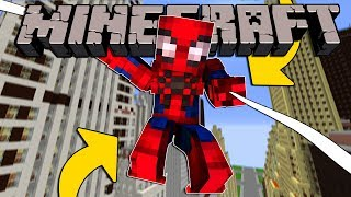 DIVENTARE SPIDERMAN SU MINECRAFT!!!