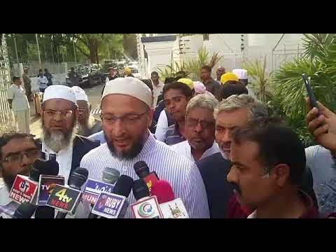 AIMIM Supremo Barrister Asaduddin Owaisi Demand to Re-examine Mecca Masjid Bomb Blast Case