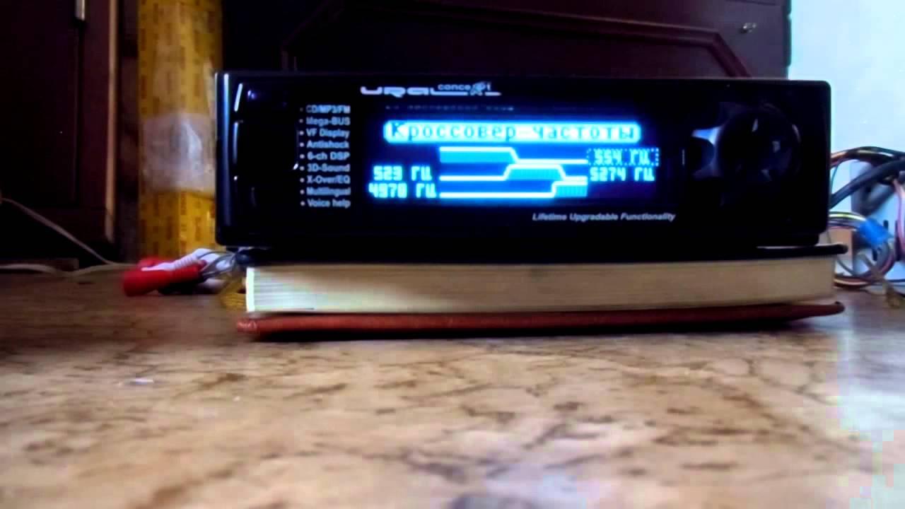 Обзор процессорного головного устройства Kenwood KDC-X5100BT - YouTube