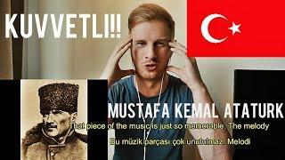 (KUVVETLI!!) Atatürk - İzmir Marşı // TURKISH HISTORICAL MUSIC REACTION