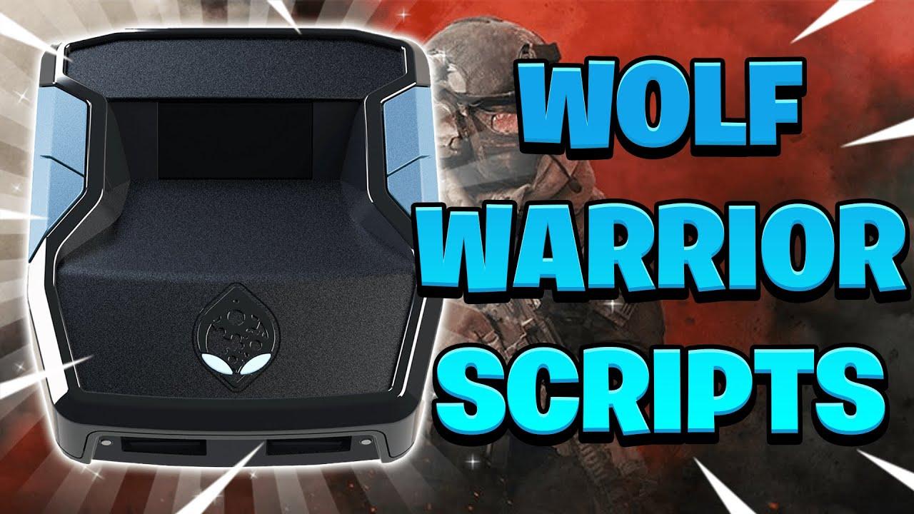Download BEST WOLF Warrior SCRIPT SETUP CRONUS ZEN   Sticky Aim++ Tracker Settings   PS+XBOX