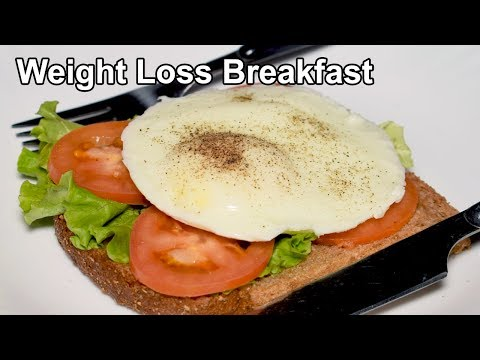 Diet Breakfast Recipe Poached egg | Weight Loss Recipe | Perfect Poached egg Recipe