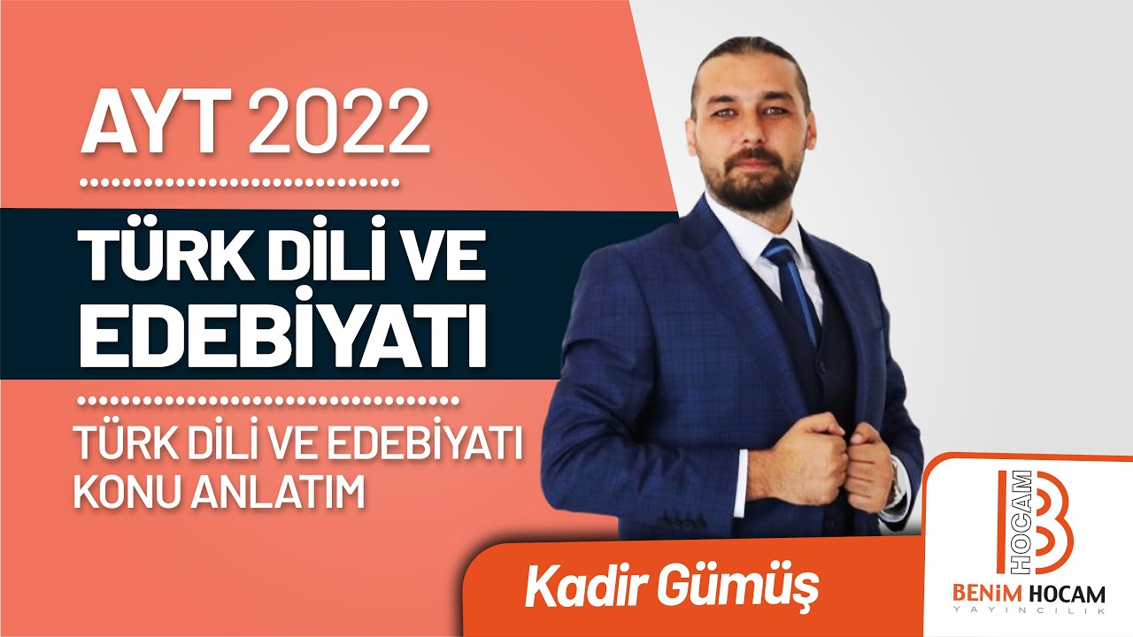16)Kadir GÜMÜŞ - Anonim Halk Edebiyatı - III / Nesir Türleri (AYT-Türk Dili ve Edebiyatı)2021