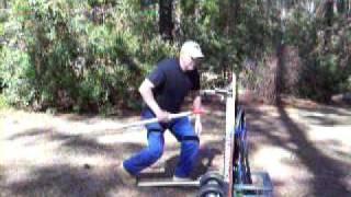 Dixielongshot portable shooting bench