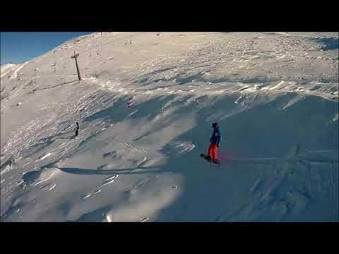 Golan Heights Ski Resort Israel Syria Border Snow Times Mt Hermon