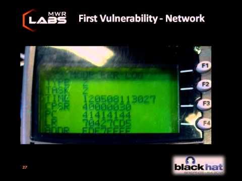 Blackhat 2012: Pin Pad Pwn