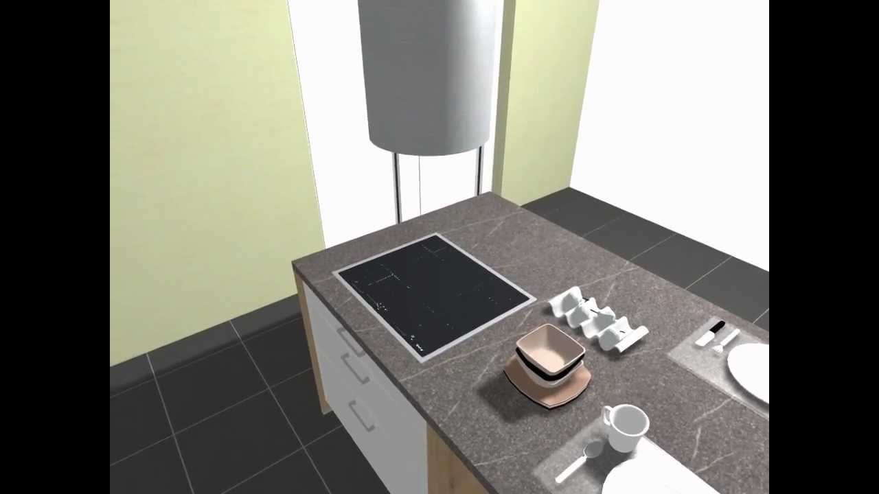 Schüller Küchen Arbeitsplatten schüller einbauküche c2 modell nova gloss brillantweiß - youtube