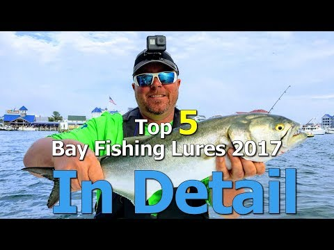 Top 5 Bay Lures of 2017 *** IN DETAIL *** - Fishing Ocean City, Maryland