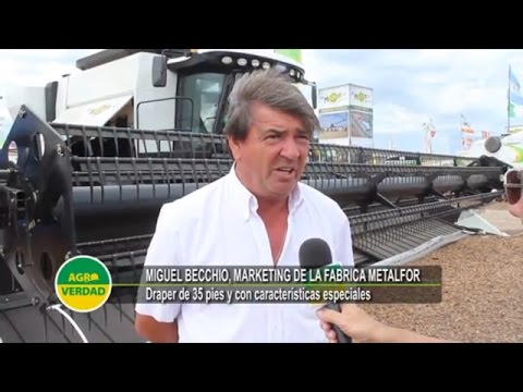 METALFOR presentó el Draper de 35 pies en Expoagro 2017