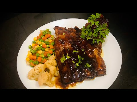 Spicy Pork Ribs with Honey