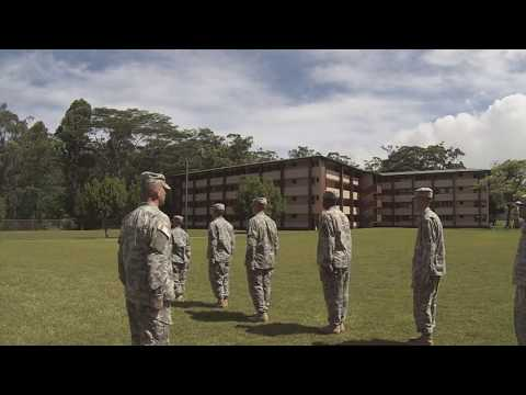 Drill and Ceremony Demonstration