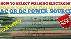 How to Select Rods for Arc Welding- Technical Secrets urdu hindi