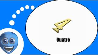 Французского видео урок = Цифры № С 1 по 9