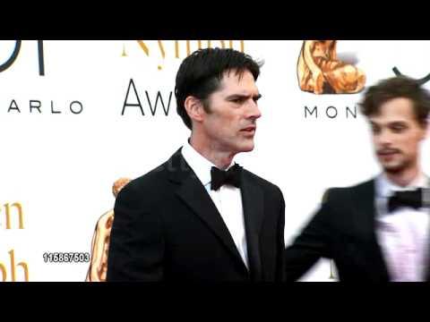Thomas Gibson and Matthew Gray Gubler at the Golden Nymph ...  Thomas Gibson a...