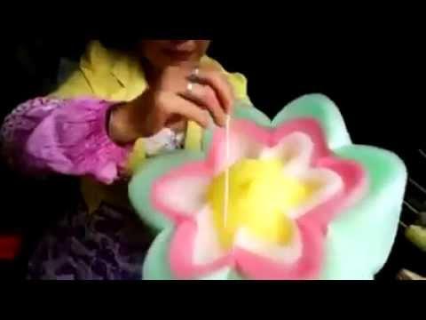 Cách làm kẹo bông gòn