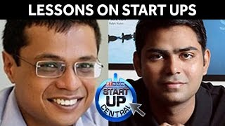 Sachin Bansal & Rahul Yadav Share Lessons on Start Ups | Startup Central