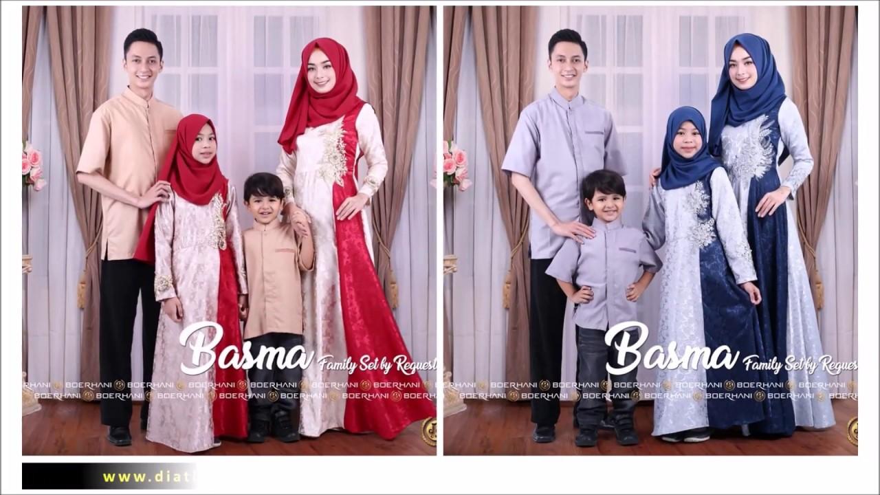Inspirasi Baju Lebaran 9 Couple Keluarga Terdiri dari 9 Model