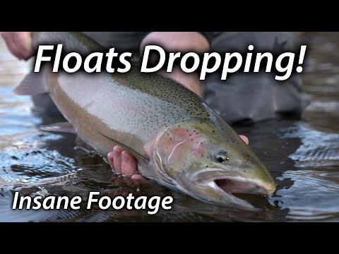 Insane Winter Steelhead Fishing - Floats Drop