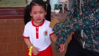 Diễn Tập Phòng Tránh Người Lạ Bắt Cóc Trẻ Em Trường Mầm Non Hoa Hướng Dương