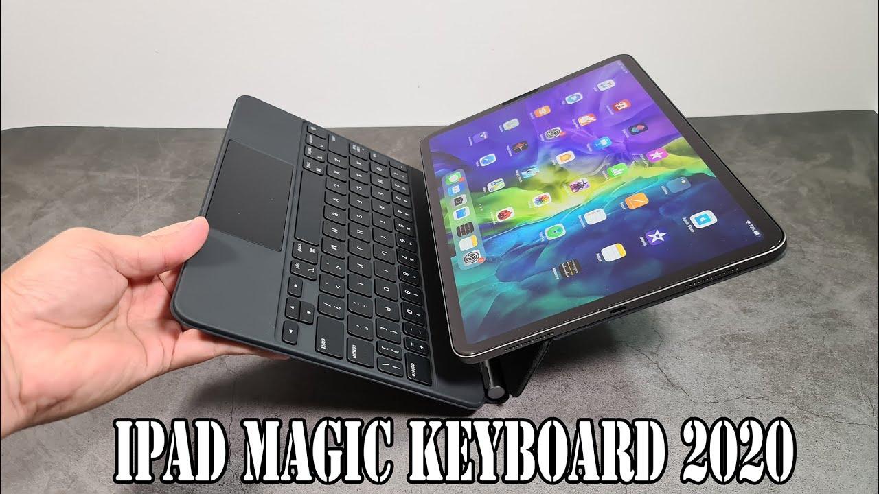 iPad Pro Magic Keyboard 2020 unboxing - YouTube