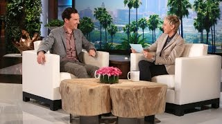 Benedict Cumberbatch and Ellen