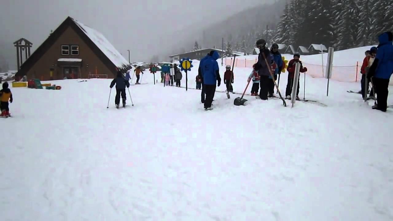 Adam And Matt S First Ski Trip Crystal Mountain Magic